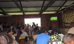 Le collège de Hnaizianu encourage les bleus !